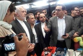 بازدید ظریف از کارخانه نوآوری آزادی