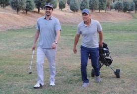 (تصاویر) گلفبازی کالدرون، سرمربی پرسپولیس در تهران
