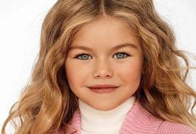 مدل ۶ ساله ای که خبرساز شد (+عکس)