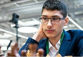 صعود فیروزجا به رده سیام برترین شطرنجبازان جهان