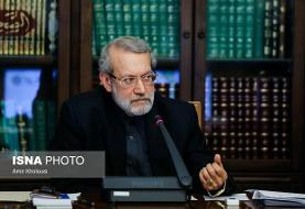 تاکید «لاریجانی» بر حمایت ایران از حفظ تمامیت ارضی سوریه