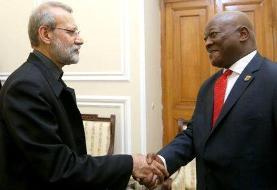 لاریجانی تاکید کرد: کمیسیون مشترک اقتصادی، آغازی بر توسعه روابط تجاری ایران و آفریقای جنوبی