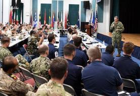 آغاز رزمایش دریایی آمریکا با مشارکت ۵۰ کشور در خلیج فارس