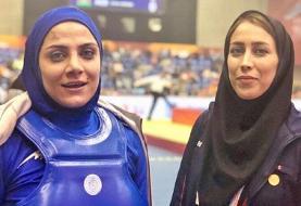 جام جهانی ووشو | شهربانو منصوریان و مریم هاشمی طلایی شدند