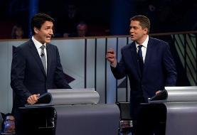 انتخابات کانادا: پیشتازی حزب جاستین ترودو در نتایج اولیه
