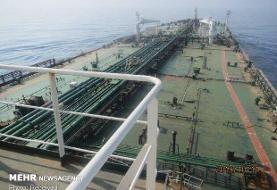 نفتکش سابیتی وارد آب های سرزمینی ایران شد