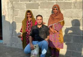 ادامه حمایت قهرمانان کشتی جهان و المپیک از محرومان سیستان و بلوچستان
