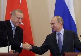 توافق تاریخی اردوغان و پوتین: ادامه حضور ترکیه در عمق ۳۰ کیلومتری سوریه و گشت مشترک روسیه و ترکیه