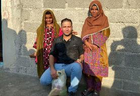 کمکرسانی قهرمان کشتی جهان به مناطق محروم سیستان و بلوچستان
