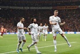 نخستین پیروزی رئال مادرید در شب جشنواره گل منچسترسیتی، تاتنهام و پاری سن ژرمن