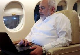 ظریف در راه باکو