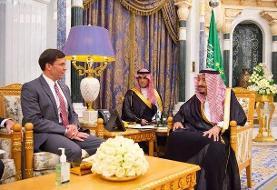 گفتوگوی ملک سلمان و وزیر دفاع آمریکا با محوریت ایران