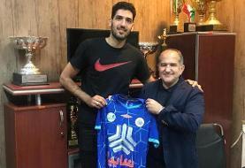 محمدجواد معنوینژاد به تیم والیبال سایپا پیوست