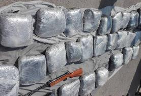 کشف محموله بزرگ مواد مخدر در برازجان