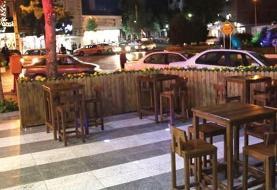 توقف فعالیت در انتظار رستورانهای ایجاد کننده سدمعبر در پیاده روها است