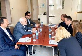 دیدار ظریف با همتای صربستانی خود در حاشیه نشست وزیران خارجه عدم تعهد