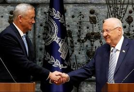 رقیب نتانیاهو از سوی رئیس جمهوری اسرائیل مامور تشکیل دولت شد