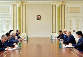 دیدار ظریف با رئیس جمهور آذربایجان (عکس)