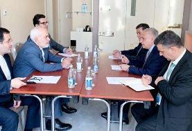 دیدار وزرای خارجه ایران و عراق در باکو