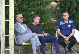 جلسه فتحی با سرپرست و بازیکنان استقلال