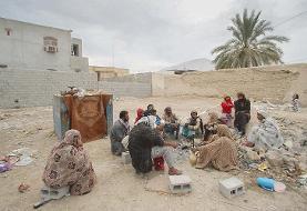 خانههای لرزان زلزلهزدگان بستک