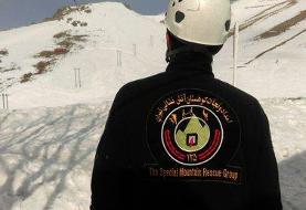 نجات ۲ کوهنورد از برف و کولاک در ارتفاعات توچال
