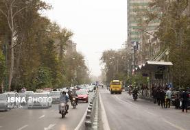 هوای ناسالم تهران برای گروههای حساس در سومین روز متوالی