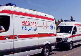 ۳ کشته و ۲۴ زخمی در تصادف زنجیرهای | اعزام ۹ آمبولانس به آزادراه زنجان-قزوین