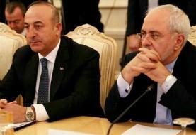 گفتگوی تلفنی وزرای خارجه ایران و ترکیه درباره سوریه