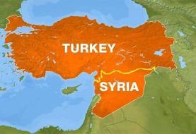حمله ترکیه به منطقه تل الطویل حسکه سوریه