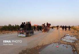 افزایش دمای هوا در مناطق مرزی ایران و عراق