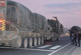 برخی از جزئیات درباره تدارکات نظامی ترکیه برای اجرای عملیات در سوریه