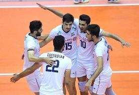 تیم ملی ایران برابر آمریکا شکست خورد/ باخت عجیب در ست چهارم