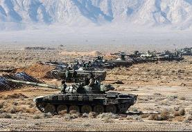 رزمایش غیرمترقبه نیروی زمینی ارتش در شمال غرب کشور/شعار؛ «یک هدف یک گلوله»