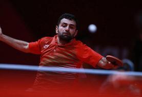 نوشاد عالمیان تنها ایرانیِ باقی مانده در تور تنیس روی میز آلمان