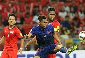 بازیکن تیم ملی کامبوج: برای یک بازی خوب به ایران آمدهایم
