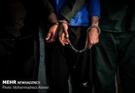دستگیری شرور محله فلاح در کمتر از ۲۴ساعت