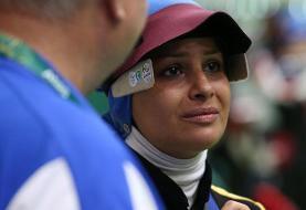 حسرت سومین المپیک برای الهه احمدی!