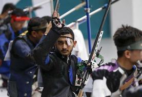 پنجمین سهمیه المپیک تیراندازی/ صداقت در تفنگ سه وضعیت المپیکی شد