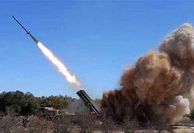 لحظه حمله موشکی به تل آویو