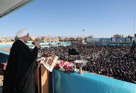 روحانی: اگر برجام را نگه داریم،تحریم تسلیحاتی ایران برداشته میشود