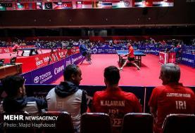 اردوی مشترک تیم ملی تنیس روی میز با مجارستان پیش از گزینشی المپیک