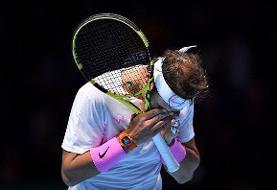 شروع تلخ نادال در تور ATP لندن