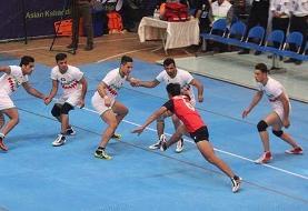 برگزاری افتتاحیه نخستین دوره رقابتهای کبدی جوانان جهان در کیش