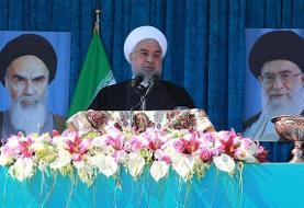 روحانی: برجام را حفظ کنیم، تحریم تسلیحاتی ایران رفع میشود
