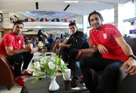 تصاویری از سفر تیم ملی فوتبال ایران به اردن