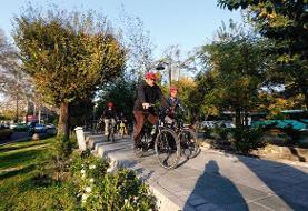 الگوسازی اشتباه آقای شهردار/ دوچرخه سواری با طعم آلودگی هوا