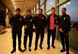 تیم ملی فوتبال ایران وارد اردن شد