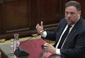 رهبر زندانی کاتالونیا میتواند از پارلمان اروپا درخواست مصونیت کند