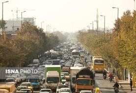 ثبت تردد ۳۸۳۸ کامیون دودزا تنها در ۸ ساعت در تهران با وجود ممنوعیت و آلودگی هوا